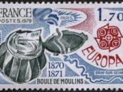 Boule de Moulins Stamp