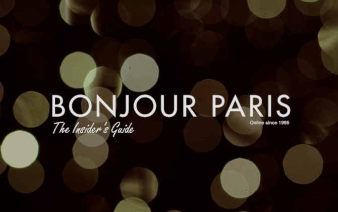 Exclusive Bonjour Paris Video: Take a Tour of Festive Paris