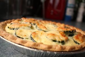 Tour de France and a Zucchini Pie Recipe