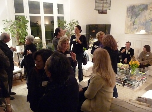 An Evening with Bonjour Paris Friends