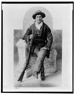 Calamity Jane & the Wild West at the Musee de la Poste (ends 3/2011)