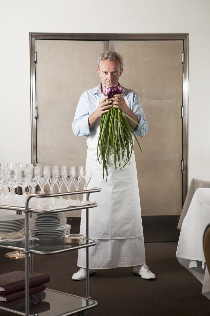 Chef Alain Passard/ Pauline Le Goff