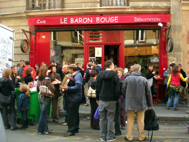 Le Baron Rouge/ courtesy of Wikimedia- Gideon