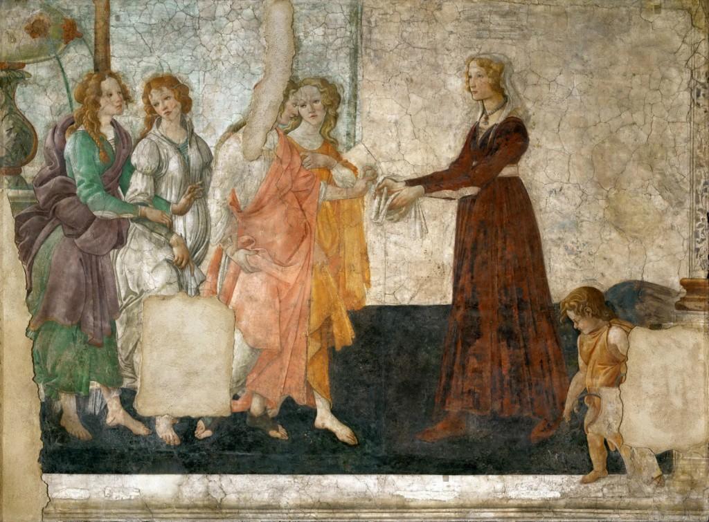 Botticelli's Venus with Three Graces