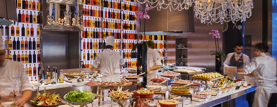 Brunch at Le Royal Monceau, Paris