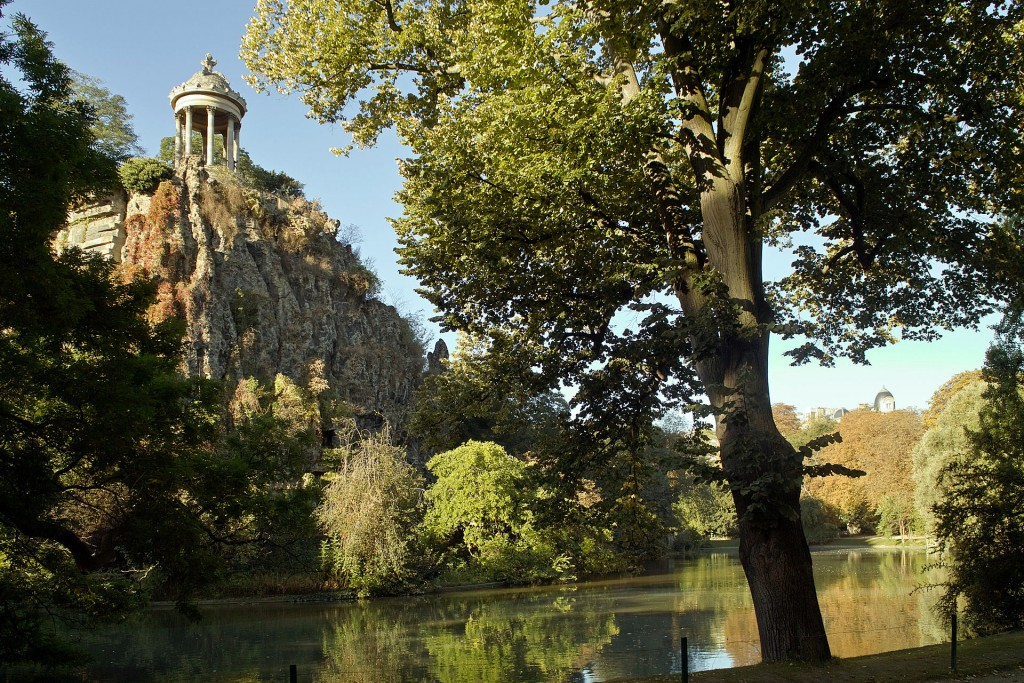 Parc des Buttes-Chaumont by Traktorminze/ Wikipedia