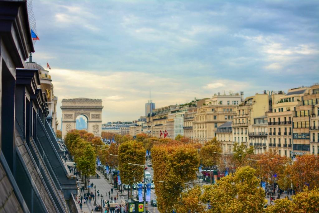 Champs Élysées by Leah Walker