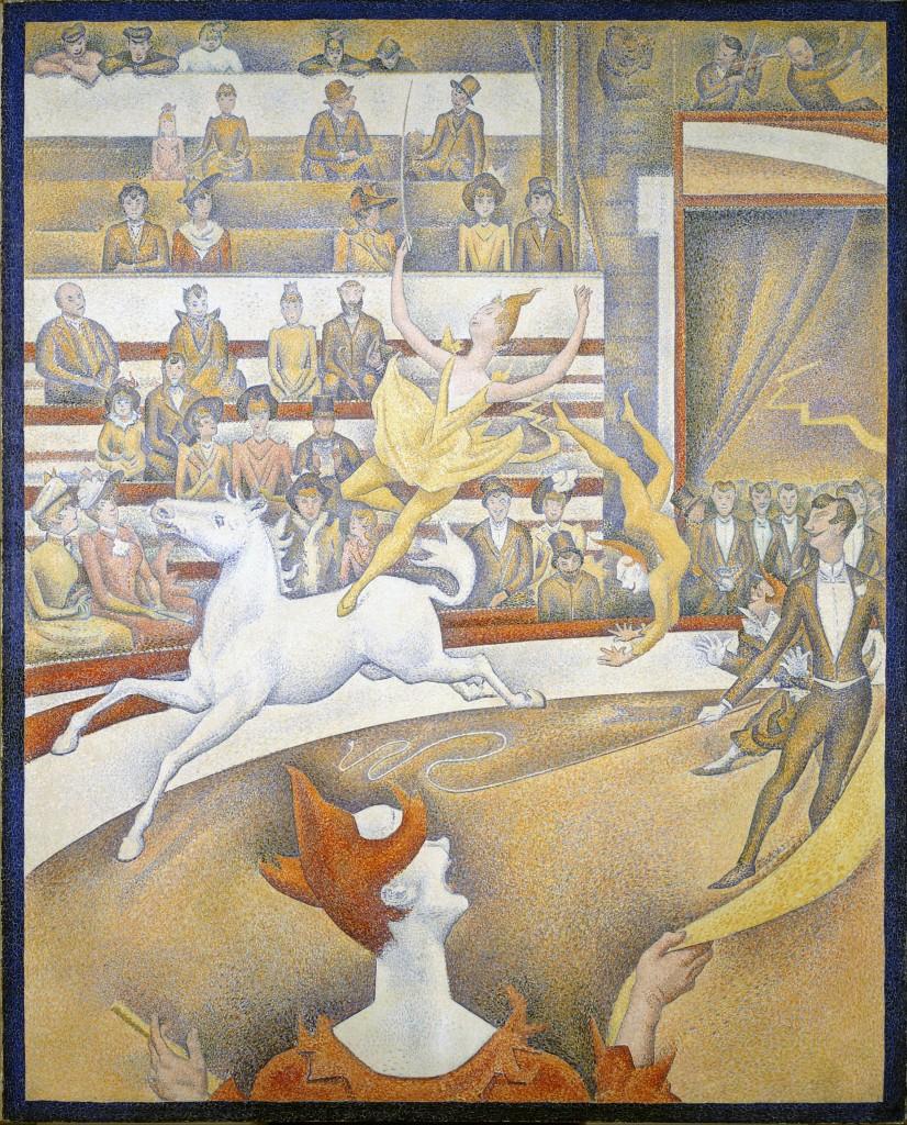 Georges Seurat, The Circus/ Public Domain