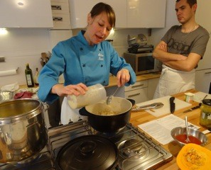 Cookery lesson in Paris, with Allison Zinder