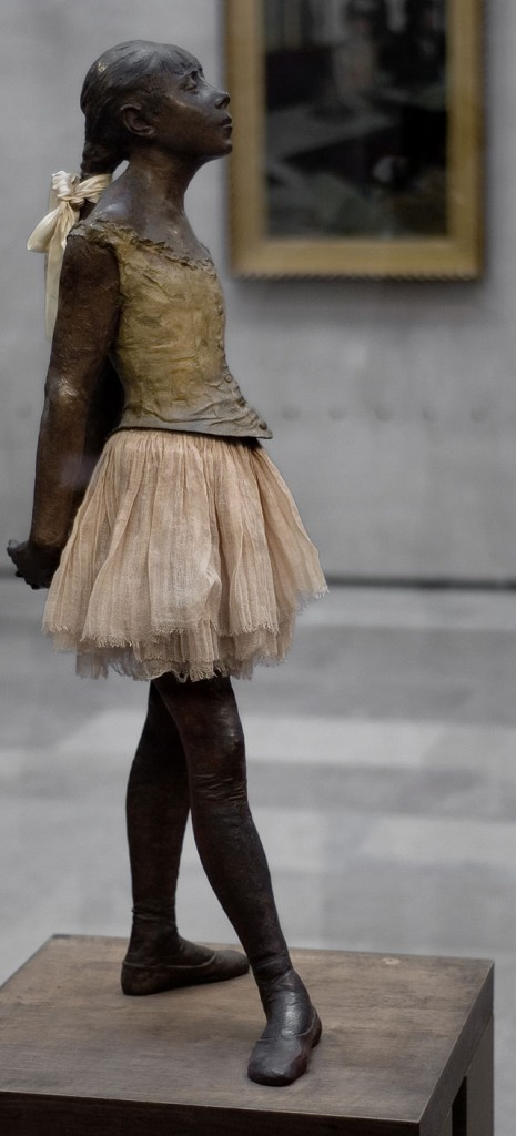 The Little Dancer of 14 Years by Degas