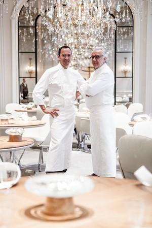 Alain Ducasse @ Le Plaza Athenee : Guy Martin Le 68 Chez Guerlain : « Cheese » Tous Au Restaurant & Mickey on the Left Bank