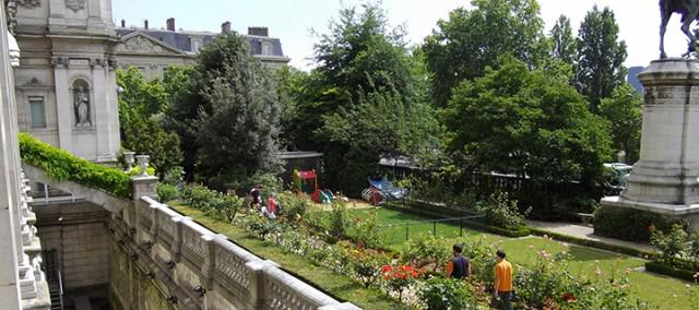 Jardin de l'Hôtel de Ville/ Mairie de Paris/ DR