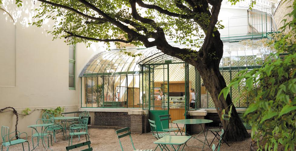 Café at the Musée de la Vie Romantique