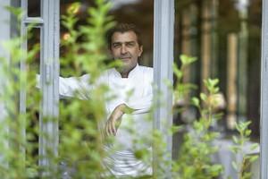 Yannick Alleno @ Ledoyen : L'Hotel:  Buddha Bar, Paris Celebrates, Porte 12 Opens & Guy Martin's Apples