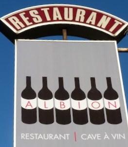 Restaurant Albion in the Paris 10th