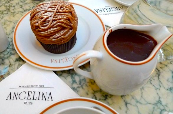 Angelina of Paris: Best Hot Chocolate and Pastries