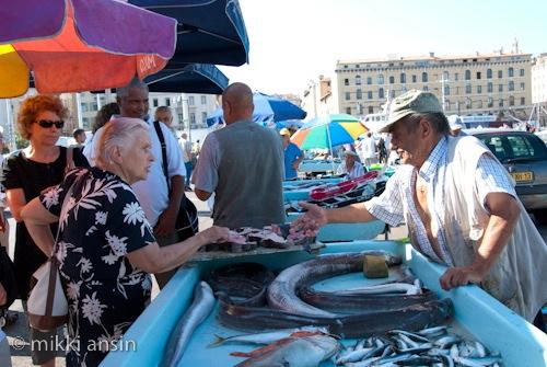 Marseille Fishmonger, Tough Customer