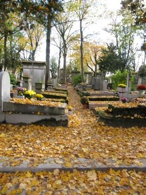 A Grave Walk in the Père Lachaise