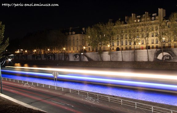 All Eyes on the Seine : Nuit Blanche