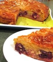 Pithiviers aux Cerises: Cherry Almond Torte Recipe
