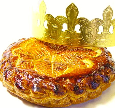 Recipe galette des rois or epiphany cake of the kings - Decor galette des rois ...