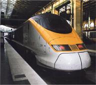 Eurostar Paris to London or Milan: Thoughts on a Speeding International Train