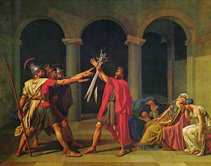 Jacques-Louis David: A Sign of the Times