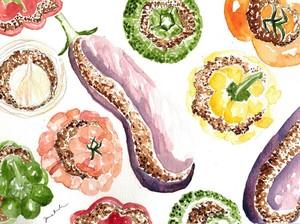 Legumes Farcis : An Aller-Retour Niçoise