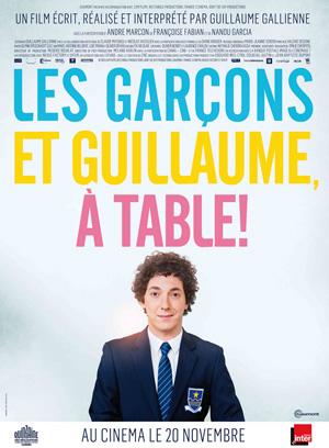 Les Garçons et Guillaume à Table!