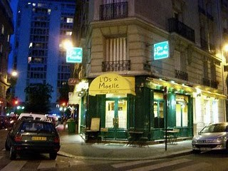 Famous Paris Bistros and Restaurants: L'Os a Moelle, Cafe Moderne, Aux Lyonnais, Grand Colbert