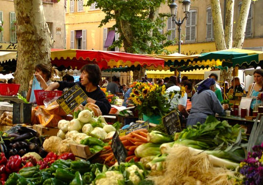 Image gallery provence market for Aix en provence cuisine