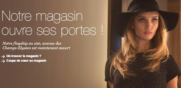 Paris News: Marks and Spencer Opens in Paris With Video from Le Figaro