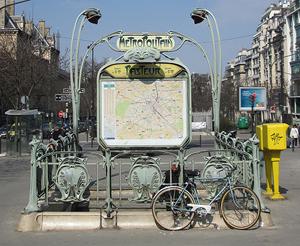 Paris Metro system details