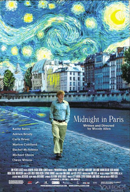 """Paris Stars in """"Midnight in Paris"""""""