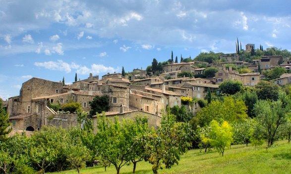 Mirmande in La Drome: Plus Beau Village
