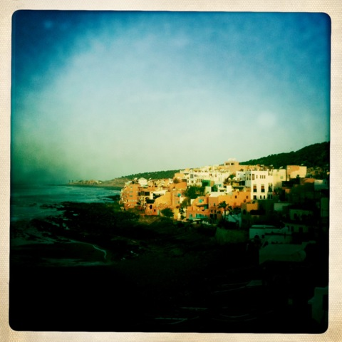 Sunshine in Tagahzout, Morocco