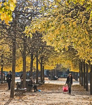 Paris in the Off Season