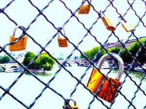 The Padlocks of Paris:  Love Incarcerated