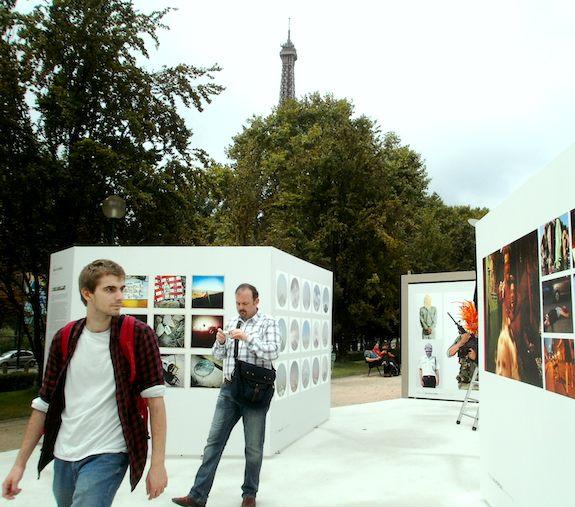 Photoquai 2011: Paris Photography Exhibit at Musee du quai Branly & Self-Guided Seine Walk