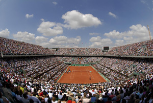 The French Open is now…open!