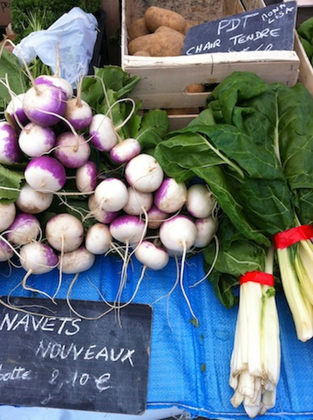 Produce at Marché sur l'eau/ Emily Dilling