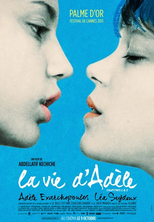 The sex warmest color is blue Blue Is