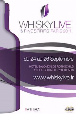 WhiskyLive & Fine Spirits 2011: Spirits & Samples by Celebrity Paris Bartenders