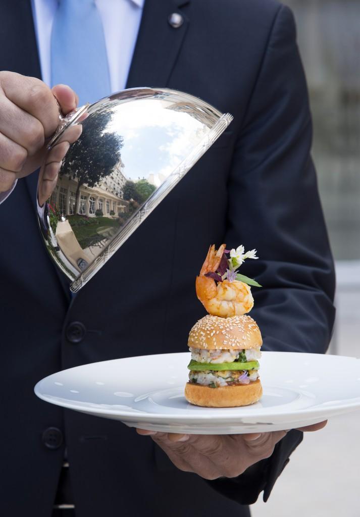 The Bristol Burger by Frechon/ Le Bristol