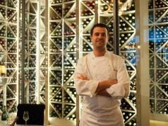 Chef Julien Boscus at Les Climats