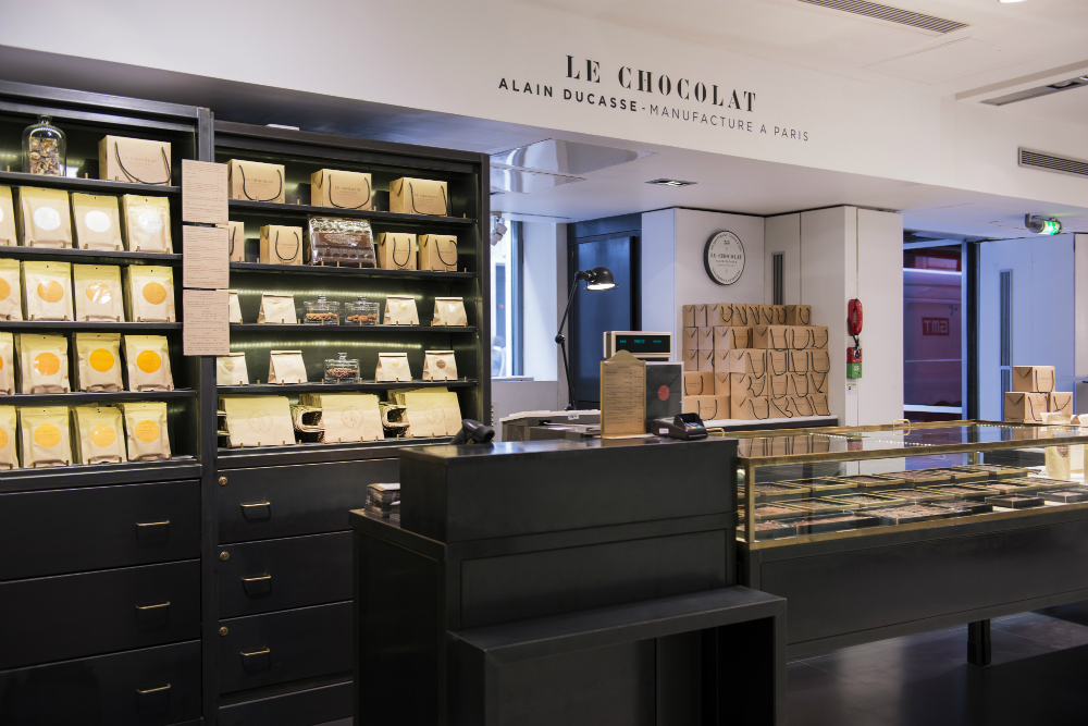Alain Ducasse chocolate at Lafayette Gourmet