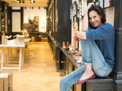 Ines de la Fressange at her new boutique