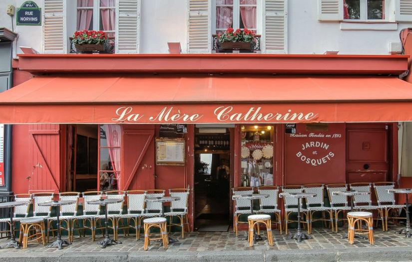 La Mère Catherine in Montmartre