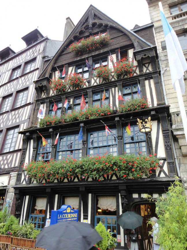 La Couronne in Rouen