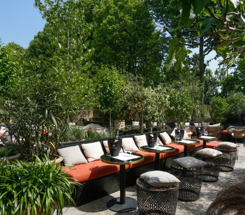 La Terrace Peyrassol at Monsieur Bleu